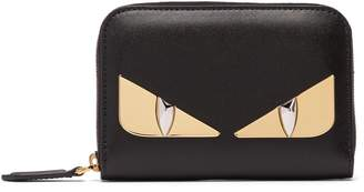 Fendi Bag Bugs zip-around leather wallet