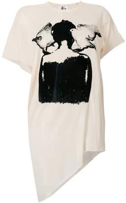 Lost & Found Ria Dunn asymmetric T-shirt