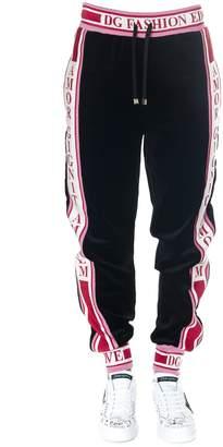 Dolce & Gabbana Black Sport Cotton Pants