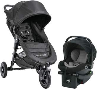 Baby Jogger City Mini Single Stroller & City Go Infant Car Seat Travel System