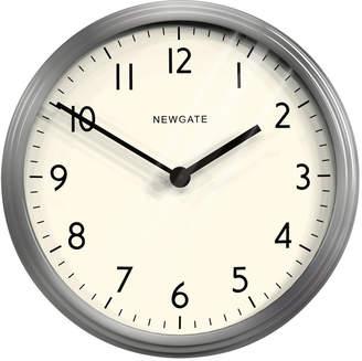 Newgate Clocks - The Spy Clock - Brushed Steel