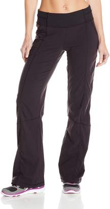 Lucy Women's Get Going Pant, Black, Small