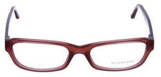 Burberry Acetate Rectangle Eyeglasses