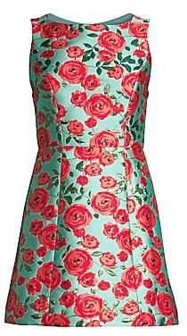Alice + Olivia Women's Lindsey Structured Mini Dress - Size 0