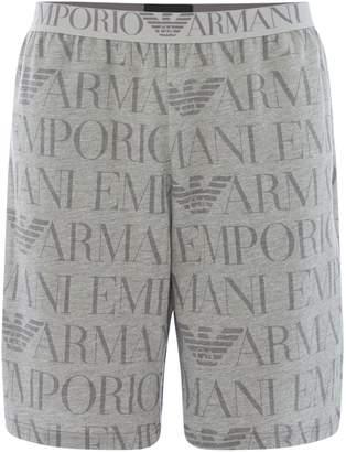 Emporio Armani Men's Logo Lounge Shorts