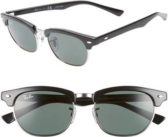 Ray-Ban Junior Clubmaster 47mm Sunglasses