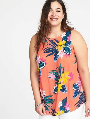 Old Navy Plus-Size High-Neck Trapeze Tank