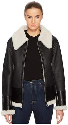 McQ Shearling Flight Cab Women's Coat