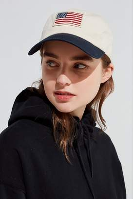 Urban Outfitters USA Flag Slouch Hat