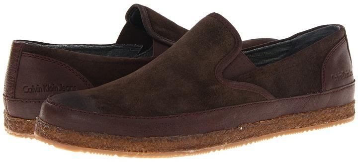 Calvin Klein Jeans Isaiah (Coffee/Oak) - Footwear