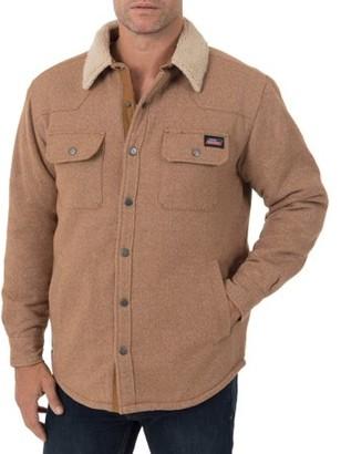 Dickies Genuine Men's Jacquard Sherpa Shirt Jacket
