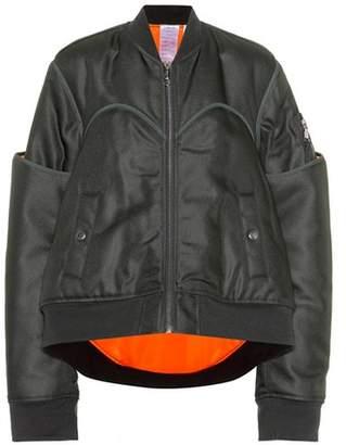 Helmut Lang Four Sleeved bomber jacket