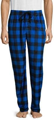 Bottoms Out Men's Mink Fleece Plaid Pants