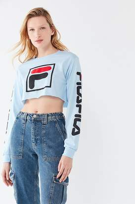 Fila UO Exclusive Long Sleeve Cropped Tee