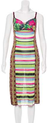 Christian Lacroix Embellished Knit Dress w/ Tags