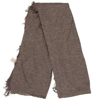 Alexander Wang Knit Raw-EdgeScarf
