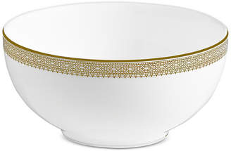 Vera Wang Wedgwood Dinnerware, Lace Gold Soup/Cereal Bowl