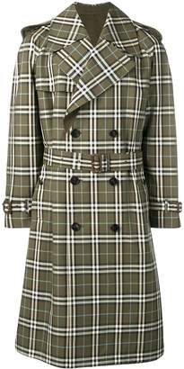 Burberry Trench with check motif
