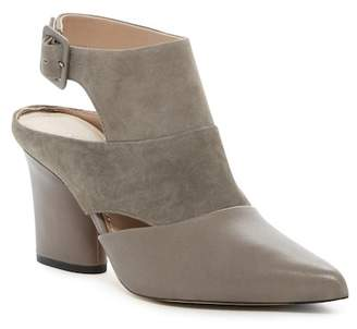 Donald J Pliner Letta Suede & Leather Pointed Toe Bootie