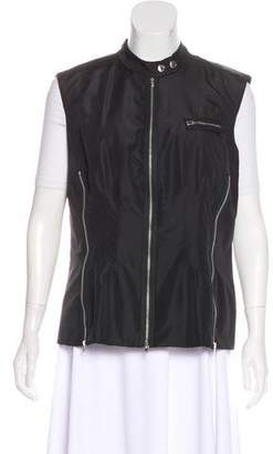 Magaschoni Lightweight Zip-Up Vest