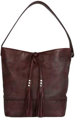 Kaleidoscope Leather Slouch Shoulder Bag