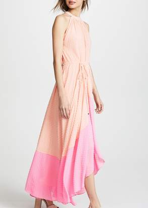 See by Chloe Saloni Iris dress in light peach mid pink