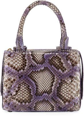 Nancy Gonzalez Python Medium Top Handle Satchel Bag