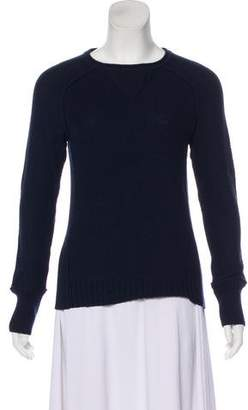 Tory Burch Long Sleeve Crew Neck Sweater