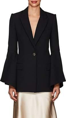 Prabal Gurung Women's Crepe Bell-Sleeve One-Button Blazer