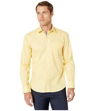 Bugatchi Crosshatch Long Sleeve Button Up Shirt