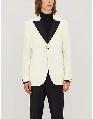 Tiger of Sweden Regular-fit peak-lapel wool and mohair-blend tuxedo jacket