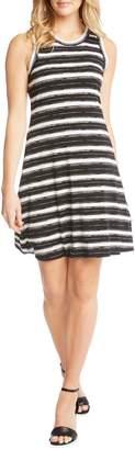 Karen Kane Stripe Fit and Flare Dress