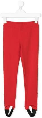 MSGM ankle straps leggings