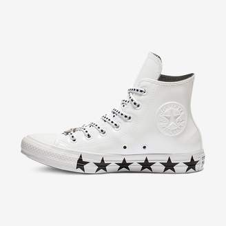 Converse x Miley Cyrus Chuck Taylor All Star Faux Patent High Top Women's Shoe