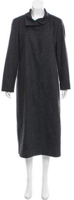 Ungaro Emanuel by Wool Long Coat