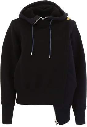 Sacai Paneled Sweatshirt