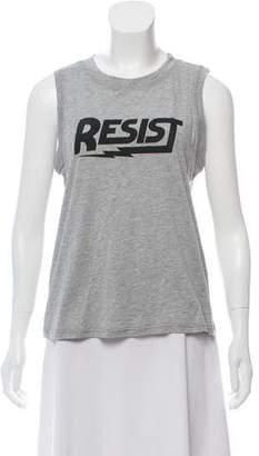 Rebecca Minkoff Printed Sleeveless Top