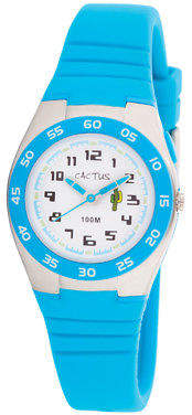 NEW Cactus Watches Summer Glide Waterproof Kids Watch Aqua