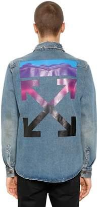 Off-White Gradient Arrows Denim Shirt