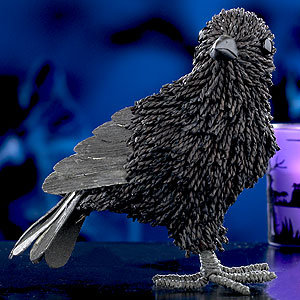 Paper Rope Halloween Crow