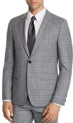 HUGO Astian Slim Fit Tonal Plaid Suit Jacket