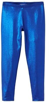 MANGO Metallic leggings