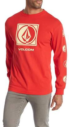 Volcom Circled Stone Long Sleeve Tee Shirt