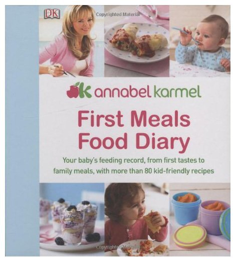 DK Publishing First Meals Food Diary