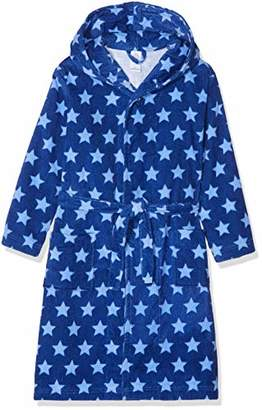 9c3ebc88daaa0 Sanetta Boys' Bathrobe Dressing Gown, (caribian Blue 50300)