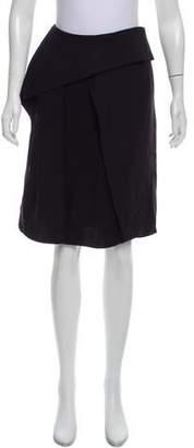 Kenzo Layered Knee-Length Skirt