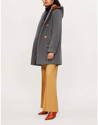 Sandro Matteo wool duffle coat