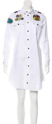 DSQUARED2 Appliqué-Accented Mini Dress