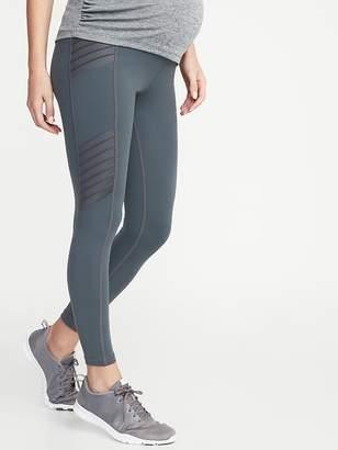 2128b105785e12 Old Navy Maternity High-Rise Moto Compression 7/8-Length Street Leggings