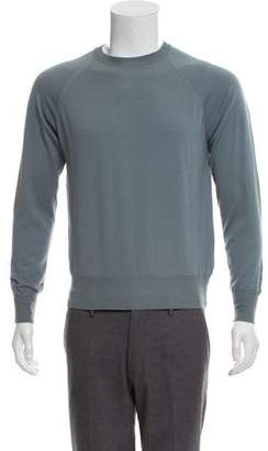 Valentino Virgin Wool Crew Neck Sweater